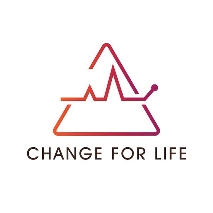 Change for Life Brave. Bold. Beyond. Logo with tagline